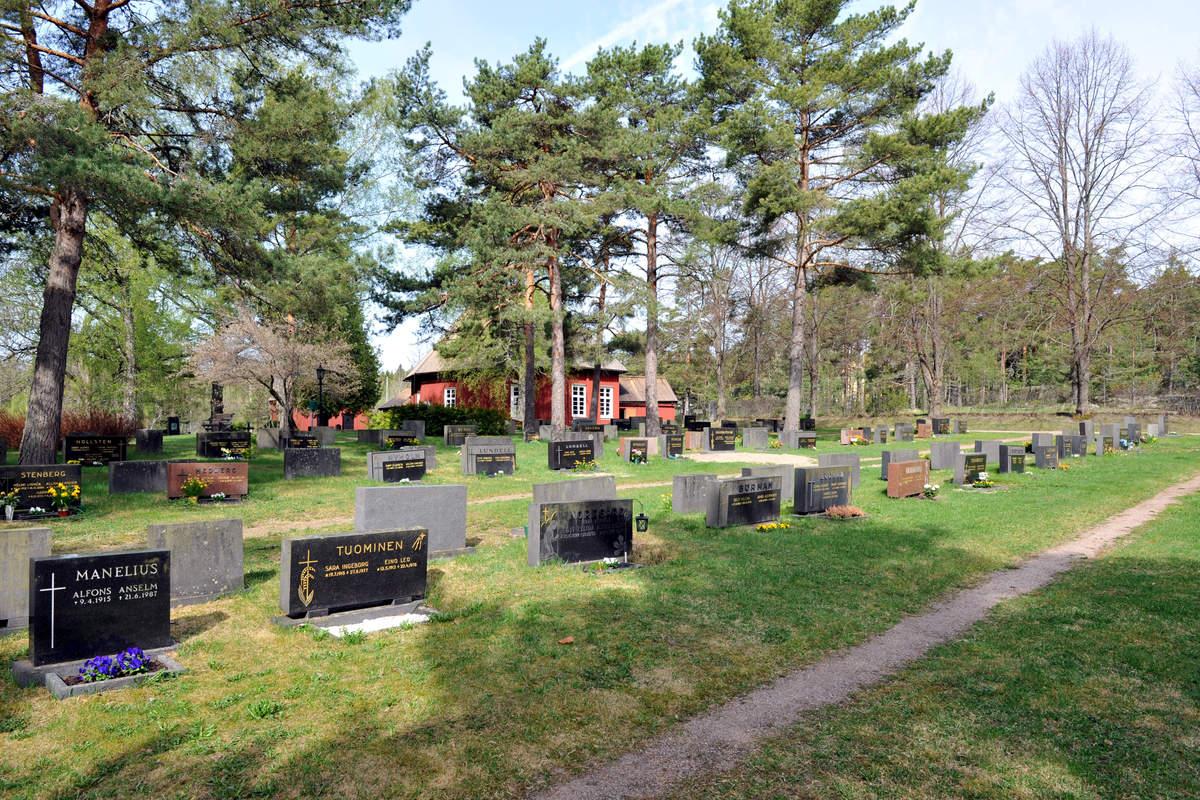 Västanfjärdin vanha hautausmaa