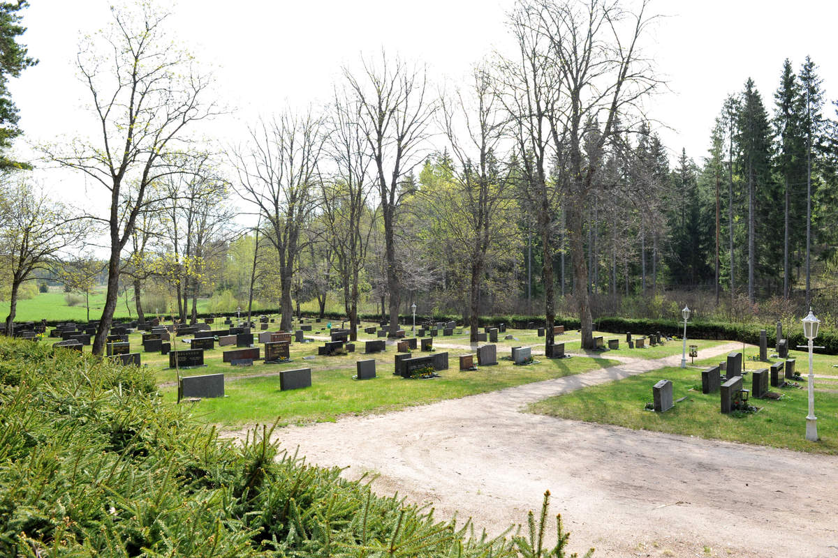 Västanfjärdin uusi hautausmaa